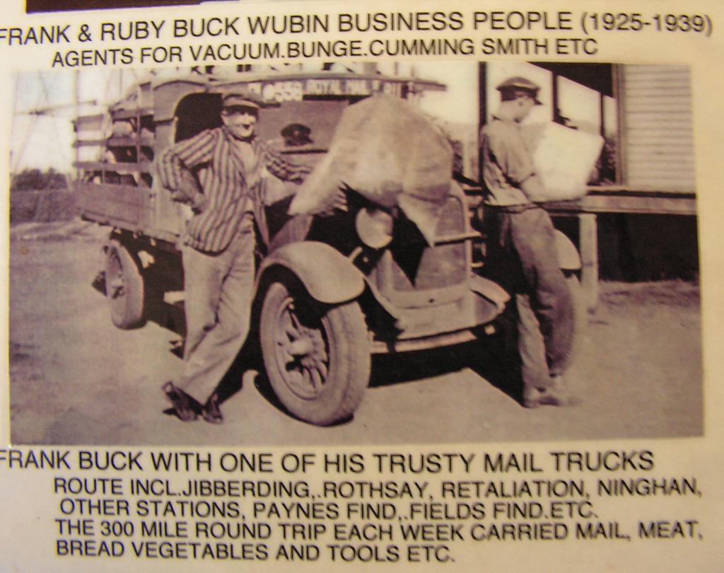 Mail Run - Charles Darwin Reserve Community History